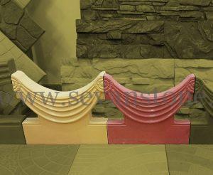 دورباغچه ای پلیمری-سنگ مصنوعی سوان
